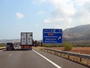Road to Benicasssim